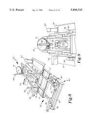patent us5890545 electric drive bunker rake google patents