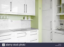 Empty Kitchen Empty Simplicity Kitchen In White And Pistachio Colors Can Be