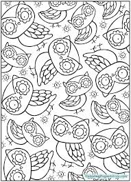 coloring page for adults owl owl adult coloring page coloring pages for kids