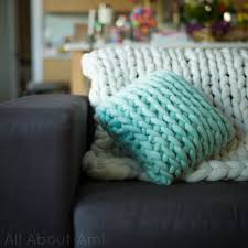 Crochet For Home Decor by Extreme Crocheted Cushion All About Ami