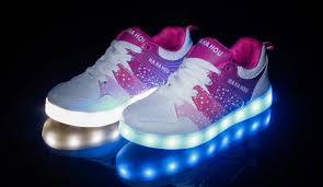 skechers led light up shoes children girls led shoes women kids boys lighting flash light up