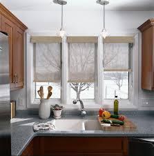 stylish modern kitchen window coverings plain kitchen window