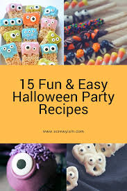 15 fun and easy recipes for your halloween party screwyism