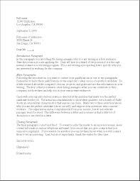Resume Cover Letter Examples Unsolicited Cover Letter Sample Best Letter Sample