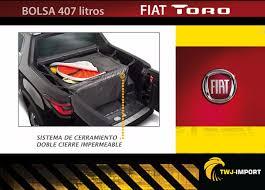 fiat toro bed fiat toro bolsa 407 litros porta equipaje impermeable