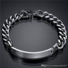 bracelet stainless steel images 2018 factory direct 2016 new men jewelry name bracelet stainless jpg