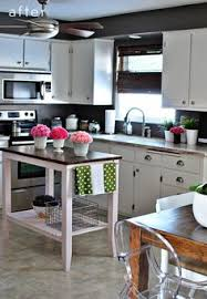 Kitchen Island For Small Kitchen Lovely Grey Mini Kitchen Apartment Living Condo Home Decor And