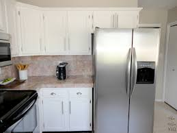 painted white kitchen cabinets before and after green wall paint