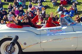 ralphie in the plymouth thanksgiving day parade 99 9 the q