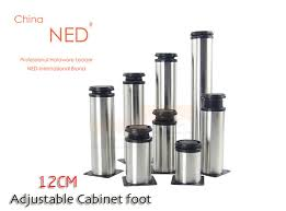 stainless steel table legs adjustable brand ned 4pcs 12cm height furniture legs adjustable stainless steel