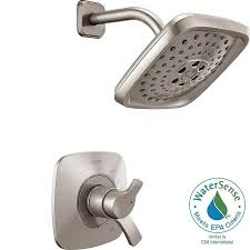 complete delta shower faucets valve and trim kit included