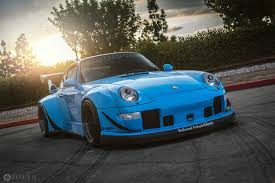rauh welt porsche green insane riviera blue porsche rwb 911 rare cars for sale