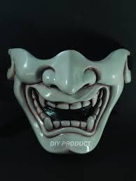 Cool Mask Ivory Kabuki Warrior Paintball Mask By Diyproduct On Etsy Cool