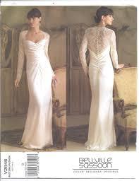 vogue wedding dress patterns vogue pattern 2846 size 12 14 16 wedding bridal gown sassoon
