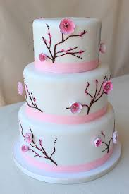 cakeworks hawaii cake bakers three tier pink and white rustic