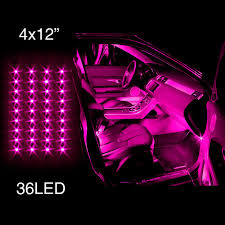 pink cars pink led lights for cars interior beautiful pink decoration