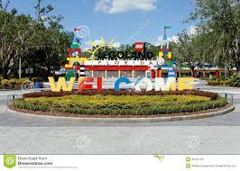 Legoland Map Florida by Legoland Florida Editorial Stock Image Image 36181759