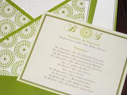 brides wedding invitation kits wedding invitation kit best of brides green and brown wedding