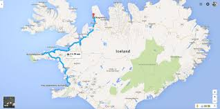 Iceland World Map On And Off The Ring Road Of Iceland Tips On What To See Where