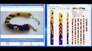 bead crochet necklace pattern images Design tubular bead crochet jewelry patterns with jbead software jpg