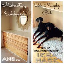 ikea pax wardrobe becomes side murphy bed or dog bed diy twin