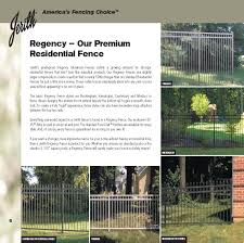 ornamental aesthetic fencing residential fences riverhead ny