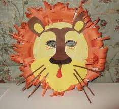 lion mask for kids paper plate craft for kids
