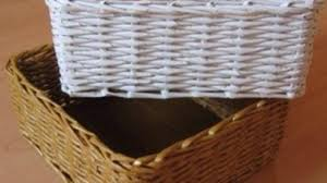 Make A Laundry Hamper by How To Construct A Lovely Newspaper Basket Diy Home Tutorial