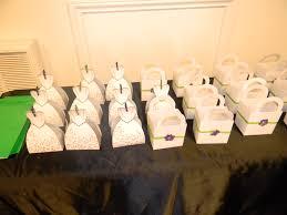 dollar tree favor boxes that i blinged up for wedding shower