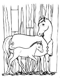horse pony coloring u0026 coloring pages