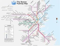 Red Line Mbta Map by The Boston Pubway The Pubway Ride The Ales