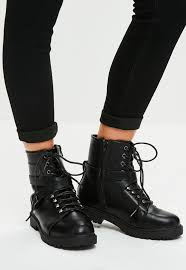 ladies leather biker boots women u0027s boots faux leather and suede boots missguided