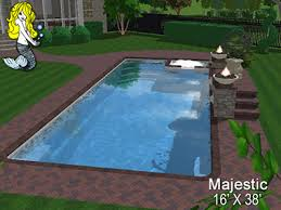Backyard Pool Sizes by Swimming Pool Nc Raleigh Apex Dunn In Ground Fiberglass Pools