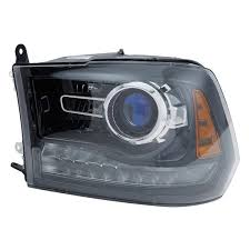 Audi Q5 Headlight - tyc dodge ram 2014 replacement headlight