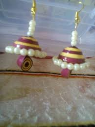 quilling earrings set earring set quilling earrings manufacturer from hyderabad