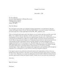 Cover Letter For Tutoring Job by Cover Letter Teachers Biology Teacher Cover Letter Sample Esl