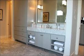 Bathroom Countertop Storage Bathroom Countertop Cabinet Linen Storage In The Bathroom Counter