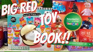 toys r us christmas toys big red toy book 2017 youtube