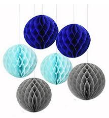royal blue tissue paper 6pcs mixed royal blue light blue tissue paper honeycomb boy