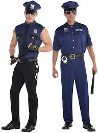 cop costume adults costume mens policeman cop fancy dress emergency