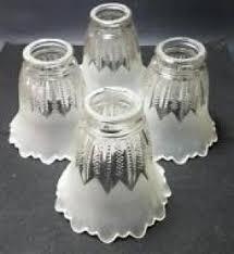 tulip glass lamp shades hollywood thing