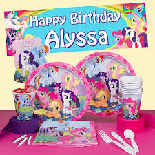 My Little Pony Party Decorations My Little Pony Birthday Party Supplies Theme Party Packs