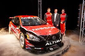 nissan altima 2013 gearbox nissan australia unveils 2013 altima v8 supercar