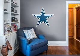 dallas cowboys logo wall decal shop fathead for dallas cowboys dallas cowboys logo fathead wall decal