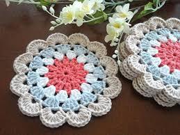 Crochet Home Decor Patterns Free Best 25 Crochet Coaster Ideas On Pinterest Crocheting Crotchet