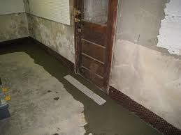 interior fench drain with basement french drain