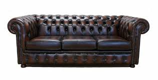 Chesterfield Sofa Brown Traditional Chesterfield Sofa Settee Import Export Uk