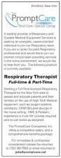 Respiratory Therapist Job Description Resume by Respiratory Therapist Job In Elmsford New York Healthcare Jobs