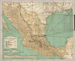 Cuernavaca Mexico Map by Frontispiece Mexican Central Railway David Rumsey Historical
