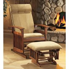 furnitures fill your home with cozy glider rocker for charming